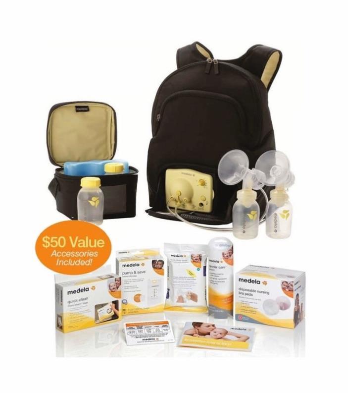 Medela Pump In Style Advanced Backpack Solution Set