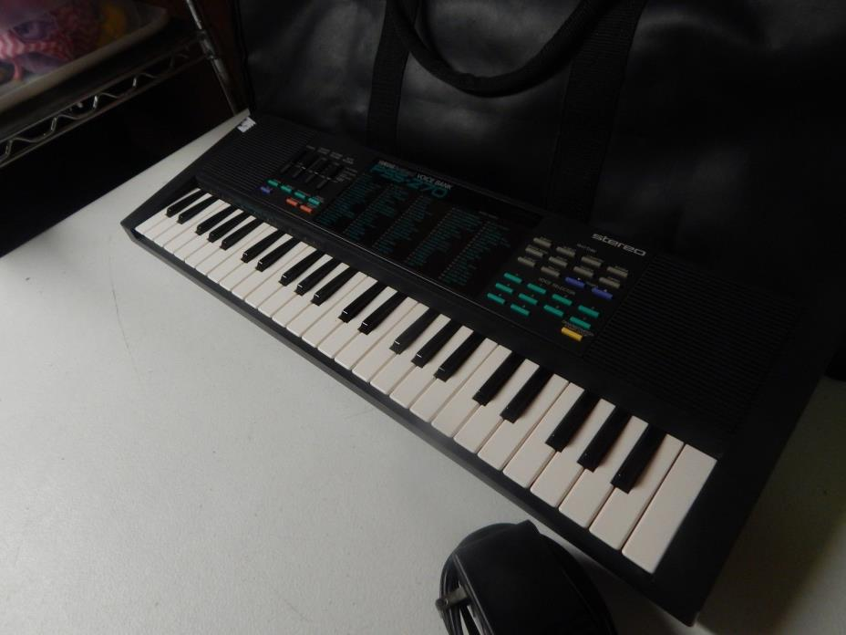 YAMAHA portasound voice bank pss 270 keyboard