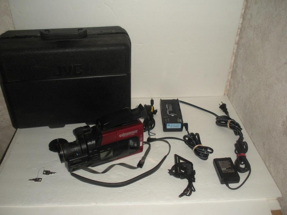 JVC GR 60U Camcorder with Extras Works Great!