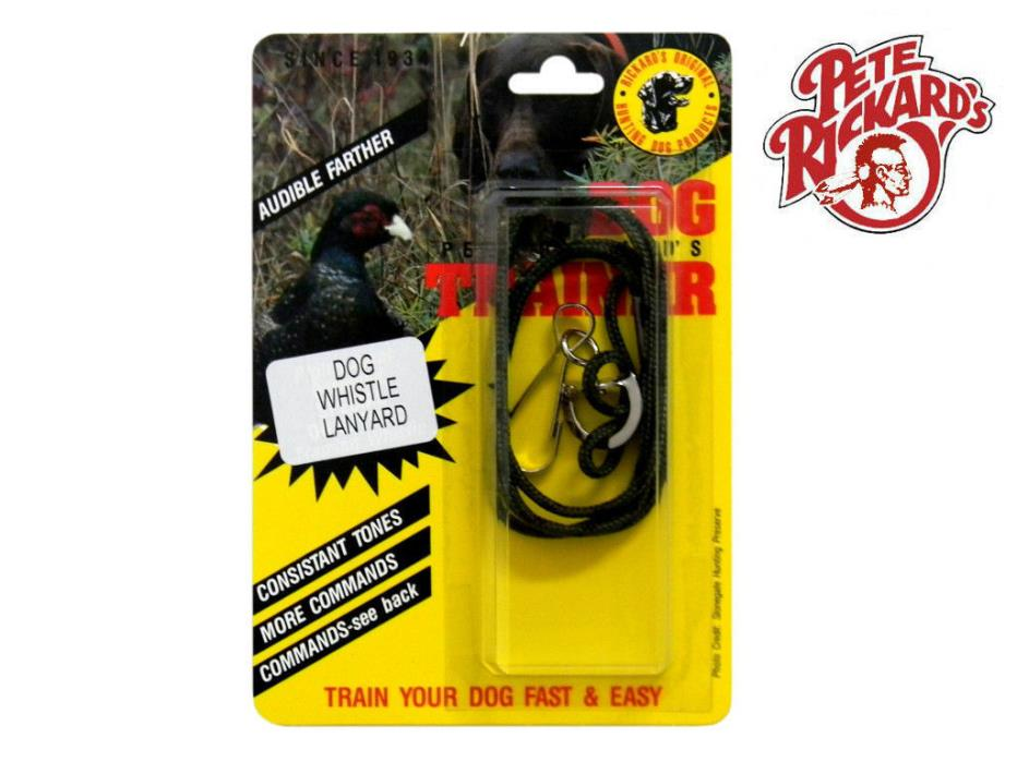 PETE RICKARDS NEW DUAL TONE DOG TRAINING WHISTLE DOG BIRD HUNTING - DD640 NEW