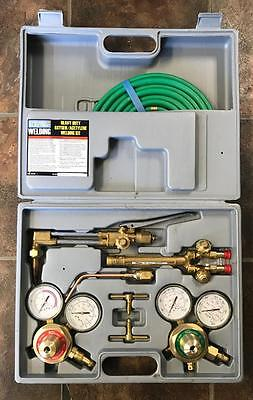 Chicago Electric Heavy Duty Oxygen & Acetylene Welding & Cutting Kit #92496