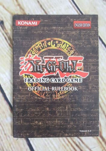 Yu Gi Oh Trading Card Game Official Rulebook Version 5.0 Konami