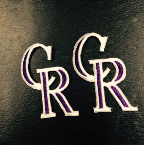 MLB Colorado Rockies NOS Fusion type logo patch Lot of 10