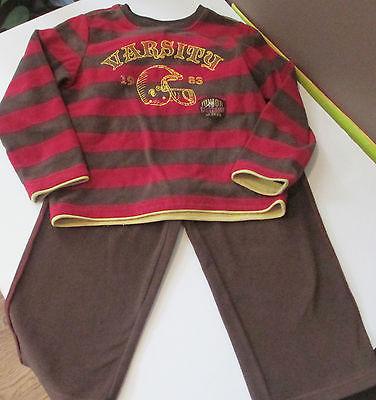 Carter's Fleece Very Warm Pajamas / PJs little boys  size 4 sleep wear Set