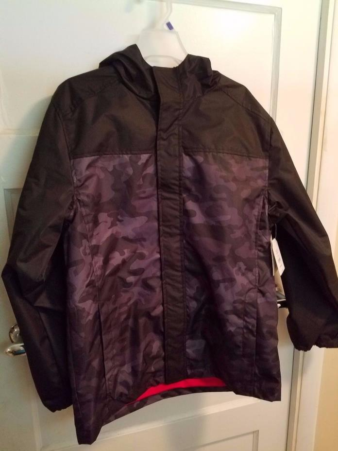 Faded Glory Rain Jacket With Waterproof Fabric Boys