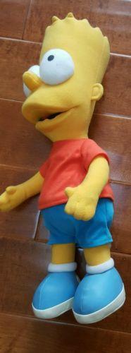 The Simpsons Talking Bart Plush Doll