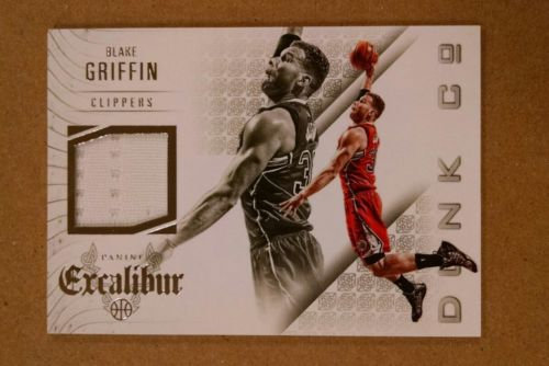 2014-15 PANINI EXCALIBUR DUNK COMPANY JERSEYS #17 BLAKE GRIFFIN