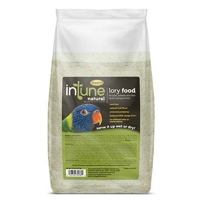 5 lb Higgins Intune Lory Softbill Bird Food By Higgins Feed Wet Dry All Lories