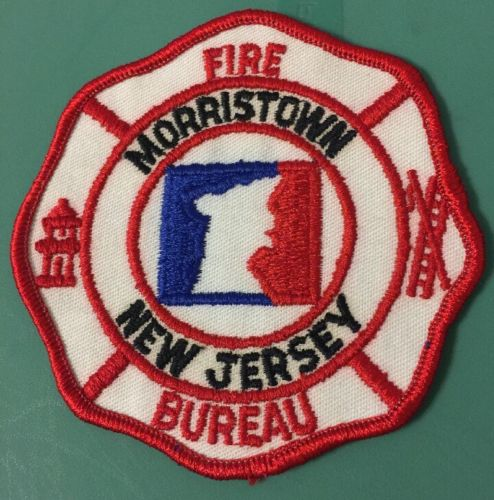 New Jersey Morristown Bureau of Fire Patch 4