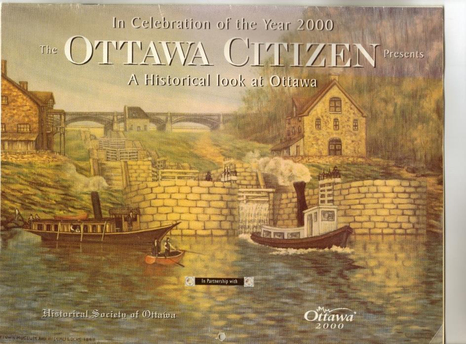Ottawa Citizen Calendar 2000 Ontario Canada Historical Society of art paintings