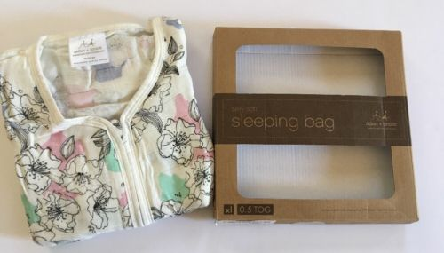 Aden + Anais Sleeping Bag Muslin Girls Ex-Large XL 18-24 Months NEW OPEN BOX