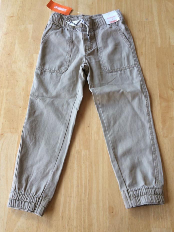 NWT Gymboree Boys Pull on Pants Khakis Jogger 4,5,6,7,8,10