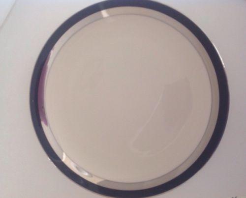 Flintridge CONTESSA black and silver Dinner Plate(s)
