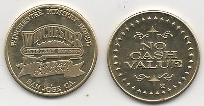 Winchester Mystery House Shooting Gallery Token