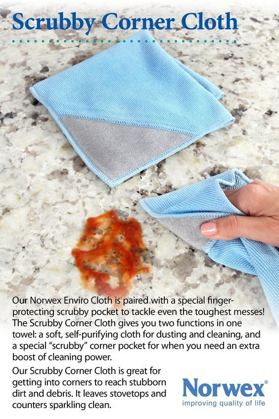 Norwex Scrubby Corner Cloth