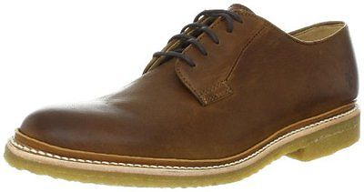 Frye FRYE Mens James Crepe Oxford Cognac- Pick SZ/Color.