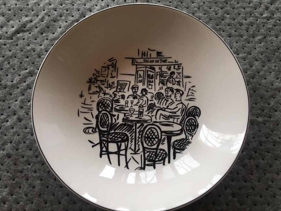Mikasa Ultima + Parisian Scenes Coupe Soup Bowl HK 114