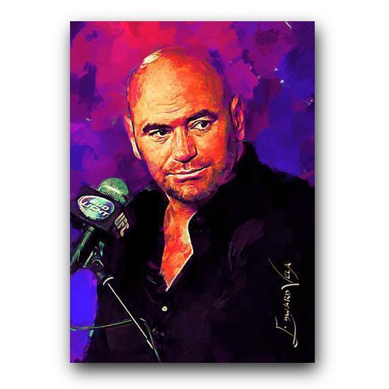Dana White Sketch Card Limited 5/25 Edward Vela Signed