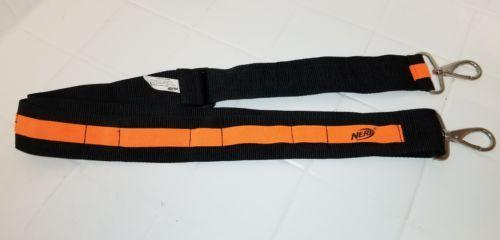 Nerf Hasbro Bandolier Ammo Belt Shoulder Strap N-Strike Orange Black