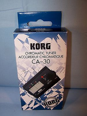 KORG Chromatic Auto Tuner CA-30 For All Types of Instruments NEW IN BOX