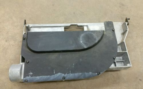 Ryobi BT-3000 Table Saw Locker Bracket & Dust Cover MPN: 969529002