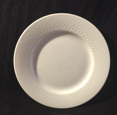 Nikko ORBIT All WHITE Bread & Butter Plate NEW CENTURY with Stickers
