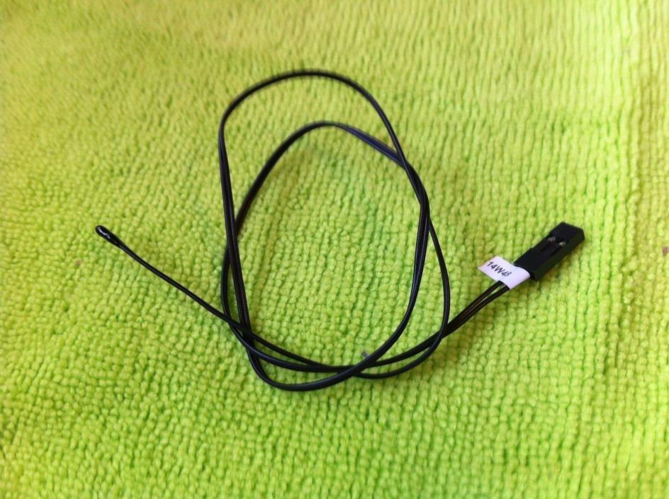 Asus Thermal Sensor Cable  For ASUS X99 DELUXE , X99 DELUXE II  ,ORIGINAL -BLACK