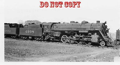 6G864 RP 1952/60s  SOUTHERN RAILROAD ENGINE #4998 SPENCER NC