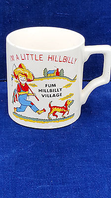 Fum Hillbilly Village souvenir little hillbilly mug Japan
