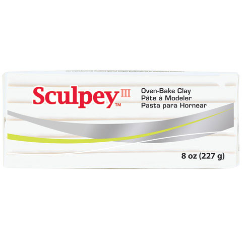 Sculpey III - 8 oz. - Translucent SYS308-010