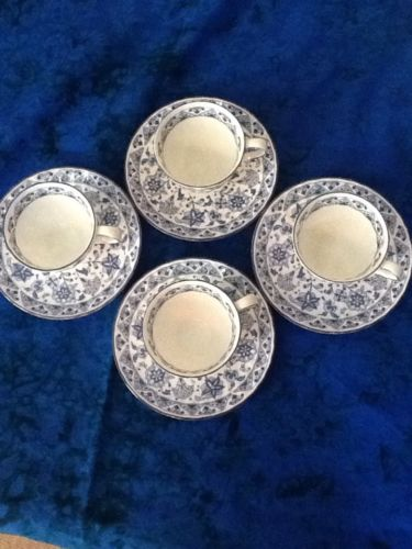 Minton Shalimar 8Pc. Demitasse set 1974 limited