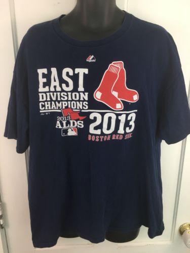 2013 Men's MLB East Division Champions Red Sox Shirt 2XL