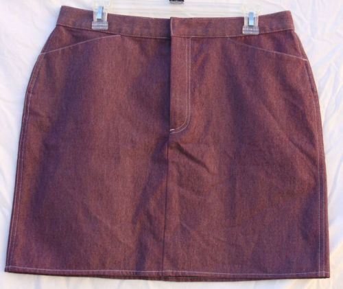 Banana Republic Purple Stretch Skirt Size 12 $68 New