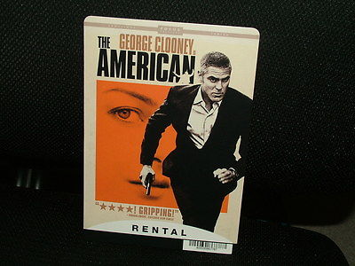 MOVIE BACKER CARD, THE AMERICAN, GEORGE CLOONEY, GREAT CONDITION