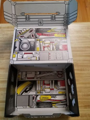 Loot Crate Investigate 2017 Empty Loot Box x files batman stranger things