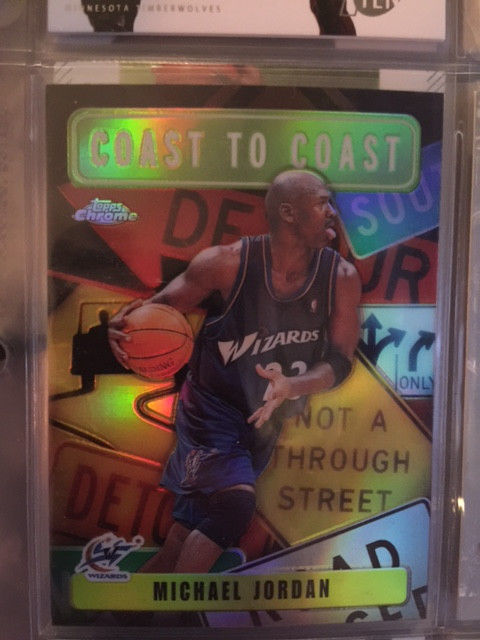 2002-03  Topps Chrome Coast to Coast #CC8 Michael Jordan