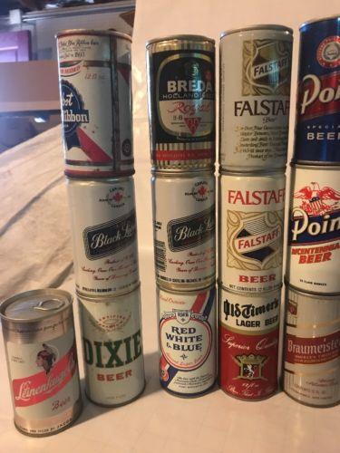 Beer Cans Lot Of 40 Cans