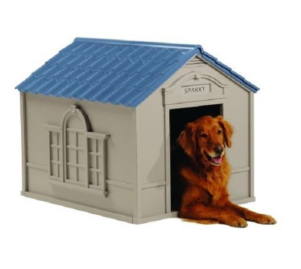 XXL Dog Kennel Crates For Large Dogs Outdoor House With Floor Pet Dwelling