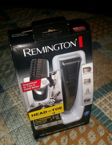 NEW Remington PG-517 Head To Toe Rechargeable Body Grooming Kit PG 517