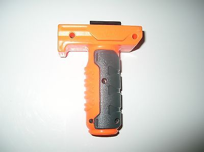 Nice Used Nerf Elite Retaliator Foregrip Handle Orange NEXT DAY SHIP