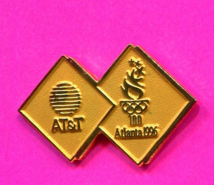 1996 OLYMPIC AT&T GOLD PIN