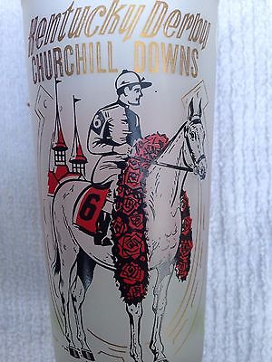 Kentucky Derby Glass / Glasses 1962