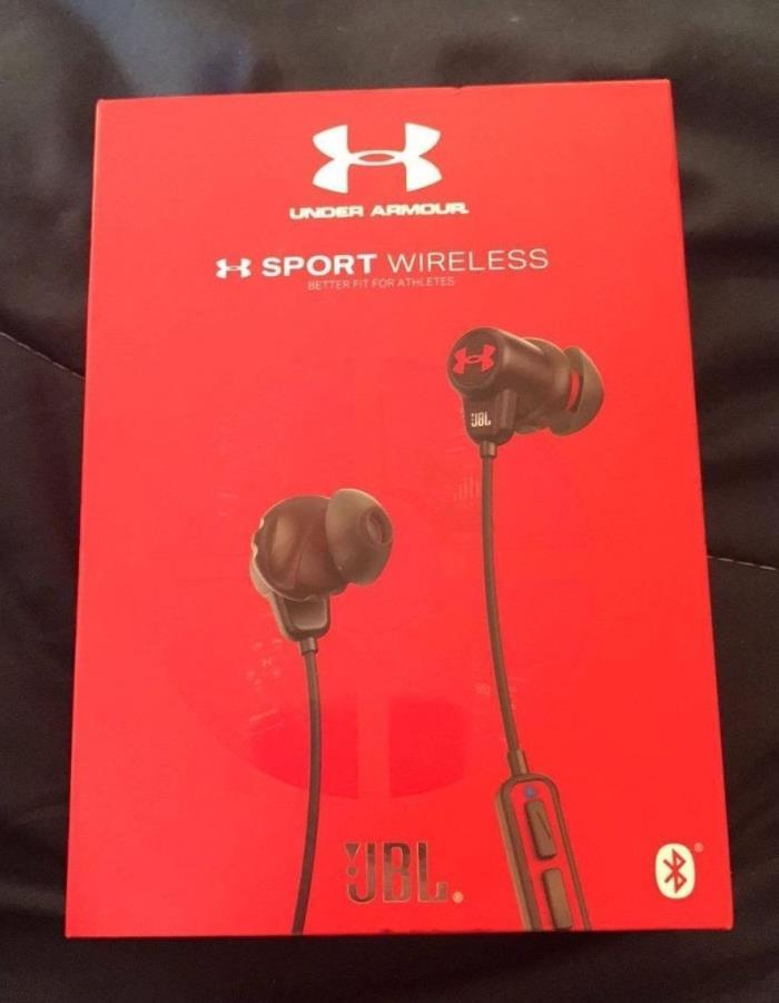 Under Armour Sport Headphones Wireless Engineered by JBL - $150.00 - SEALED BOX