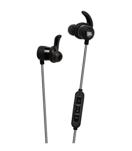 JBL Reflect Mini Bluetooth Sport Earphones w/ Bonus Instant Cooling Towel Black