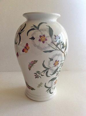 VTG PORTMEIRION BOTANIC GARDEN Canton Vase 10 1/2