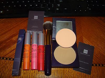 Tarte 3 natural lip stains, EmphasEYES liner, brush & Med Amazonian clay powder
