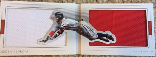 2016 National Treasures Dustin Pedroia All Out Jumbo Jersey Booklet 19/25