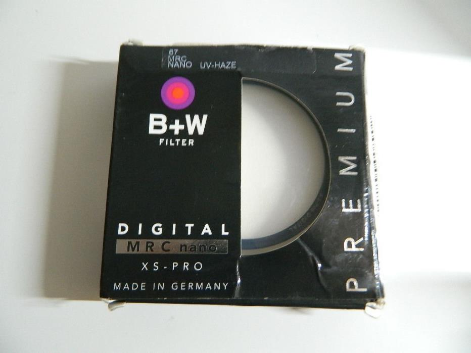 B+W Premium Filter 67mm MRC Nano UV-Haze XS-Pro *Free Shipping*