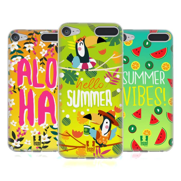 HEAD CASE DESIGNS SUMMER FEELS SOFT GEL CASE FOR APPLE iPOD TOUCH MP3