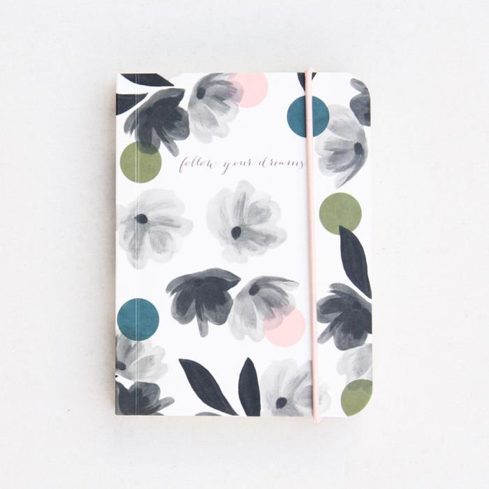 Caroline Gardner - Notebook - Rose Tinted Small Chunky Notebook